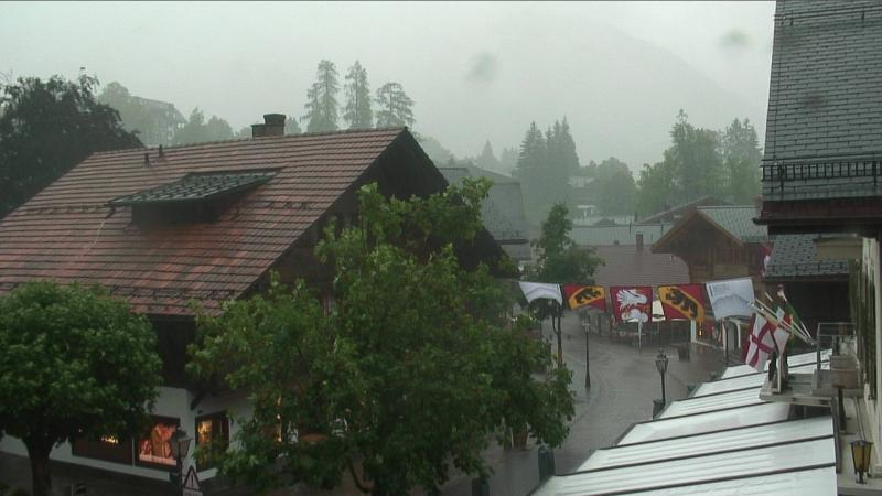Gstaad Dorfzentrum